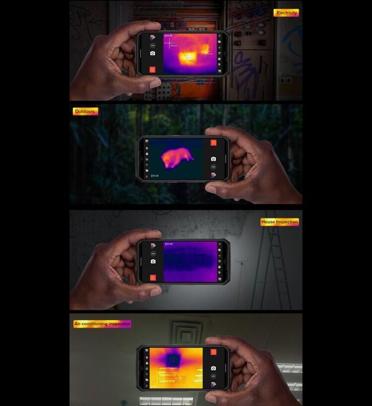 Ulefone Armor 9 Rugged Phone, Thermal Imaging Camera, 8GB+128GB - 7