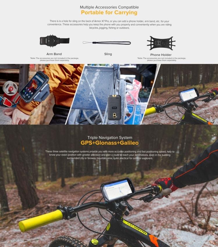 Ulefone Armor X7 Pro Rugged Phone, 4GB+32GB (Yellow) - 8