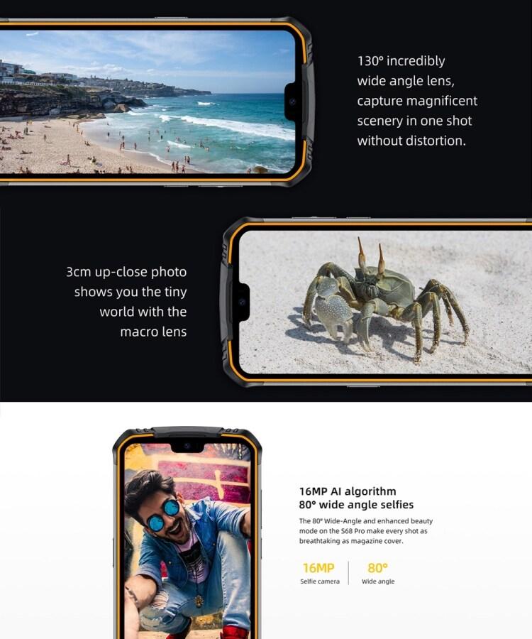 DOOGEE S68 Pro Rugged Phone, 6GB+128GB - 10