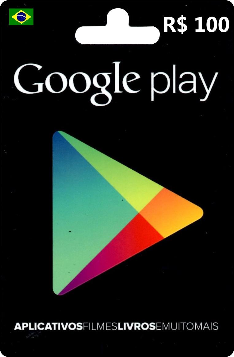 Google Play Gift Card 100 BRL BRAZIL - 1