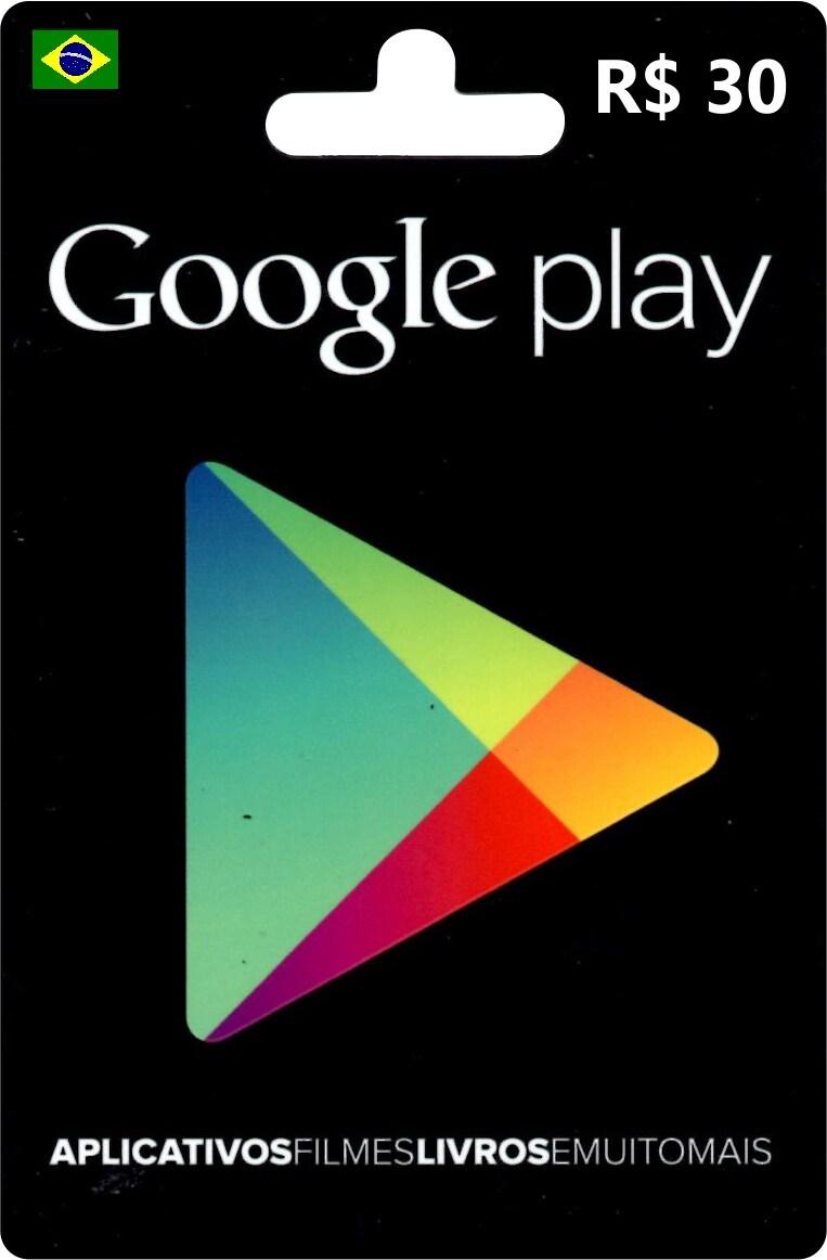 Google Play Gift Card 30 BRL BRAZIL - 1
