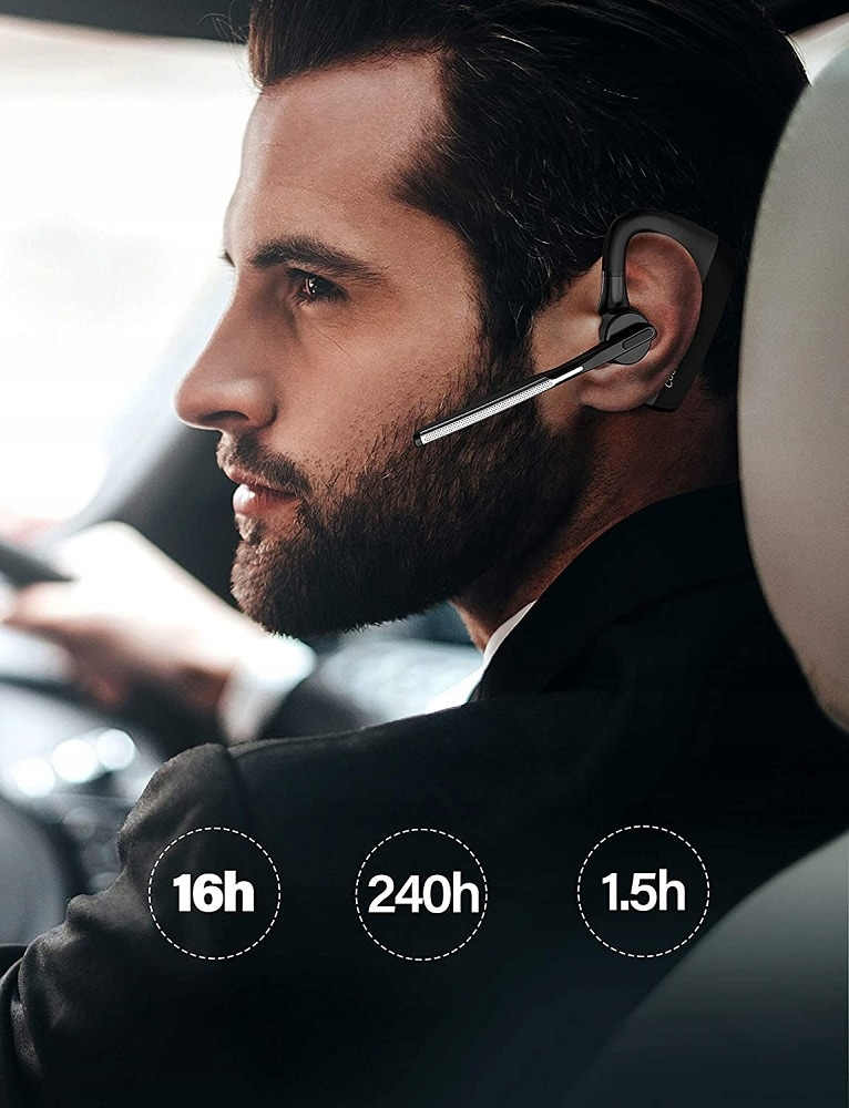 Słuchawka Feegar Bond Pro Bluetooth 5.1 16H Cvc8.0 - 6
