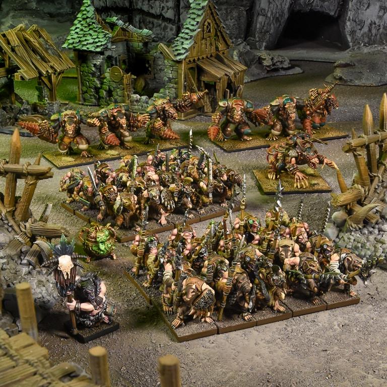 Ratkin Skaven Army  Kings of WAr 28mm - 1