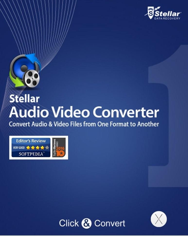 Stellar Audio Video Converter for Mac Key GLOBAL - 1