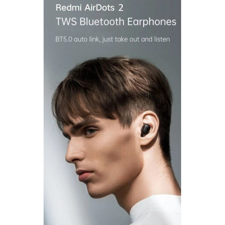 New Xiaomi Redmi AirDots S with Noise Reduction Black - 2