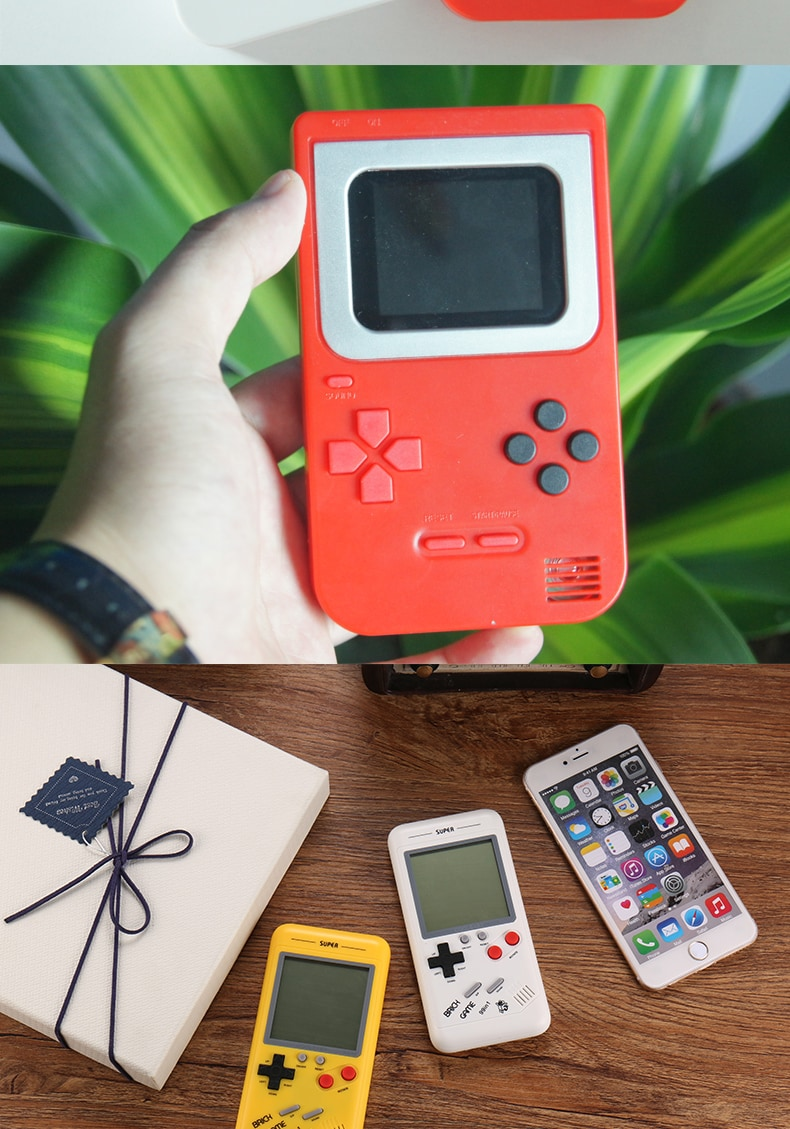 Retro Handheld Game Player Console, With 500 Preinstalled Vintage Games, Red Colour And Controller. - 4