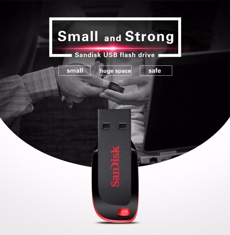 SanDisk Cruzer Blade USB Flash Drive CZ50 USB 2.0 - 5