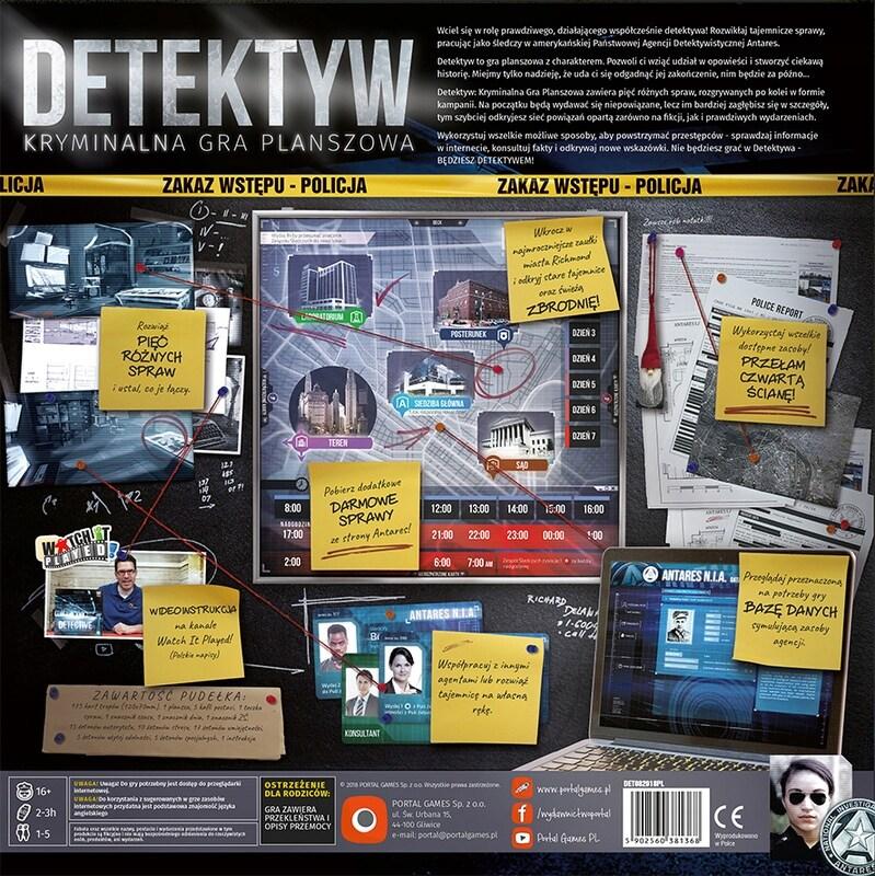 Detektyw: Kryminalna Gra Planszowa - 3