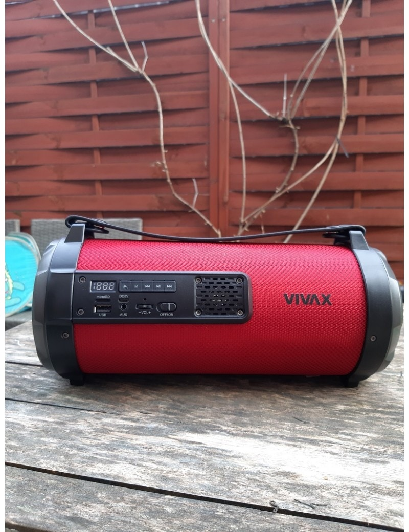 Głośnik bleutooth Vivax BS-101 1x15W+1x10W BASS - 8
