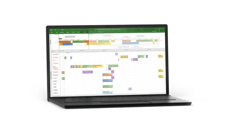 Microsoft Project 2016 Professional (PC) - Microsoft Key - GLOBAL - 4