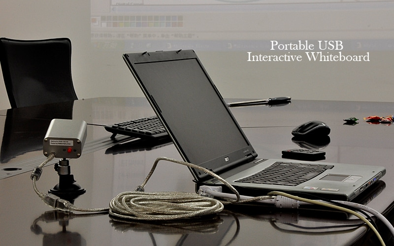 Portable USB Interactive Whiteboard (IR Pen-based) - 6