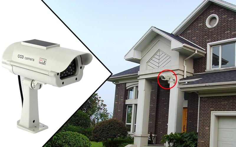 Realistic Solar Powered Dummy Camera - 10