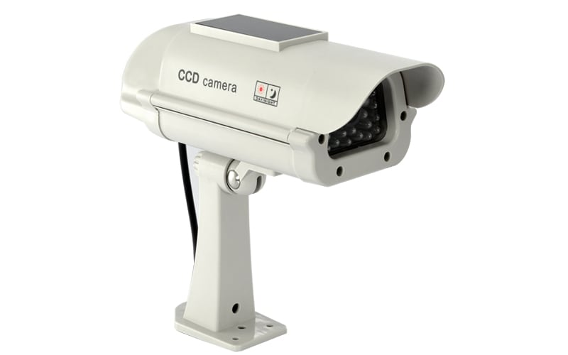 Realistic Solar Powered Dummy Camera - 1