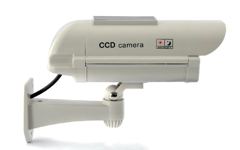 Realistic Solar Powered Dummy Camera - 2