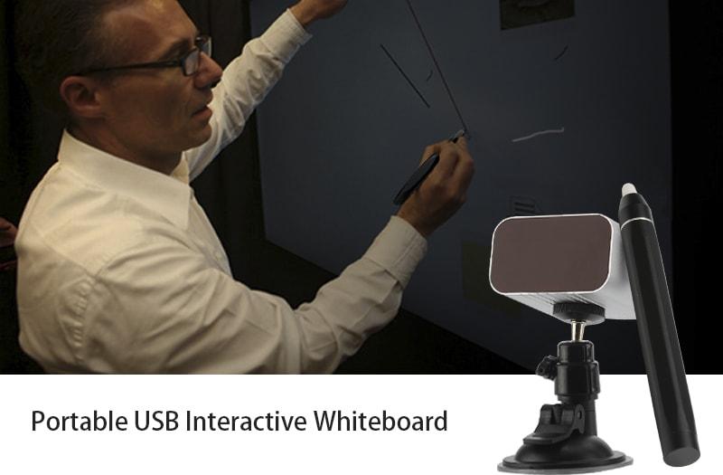 Portable USB Interactive Whiteboard (IR Pen-based) - 1