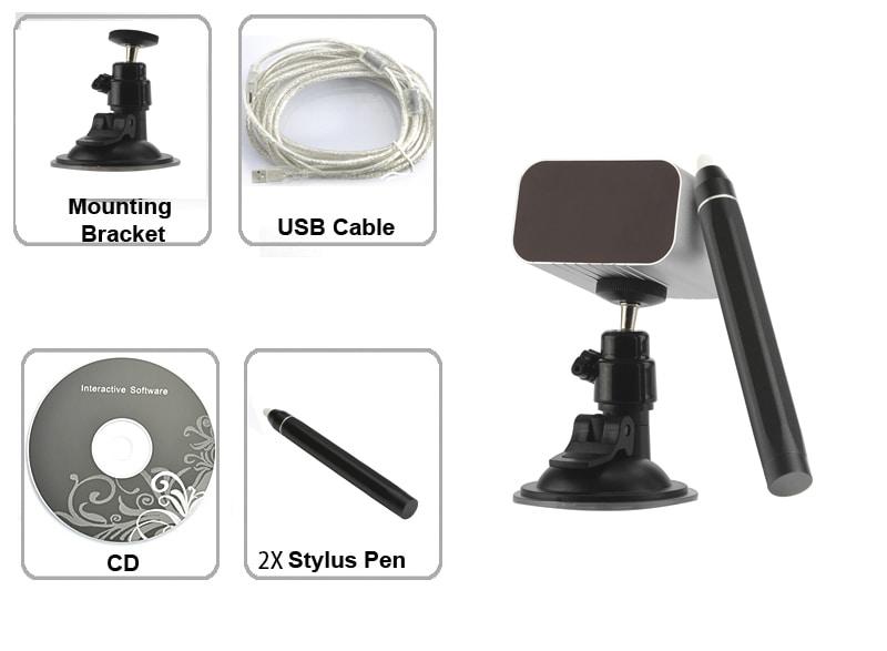 Portable USB Interactive Whiteboard (IR Pen-based) - 4
