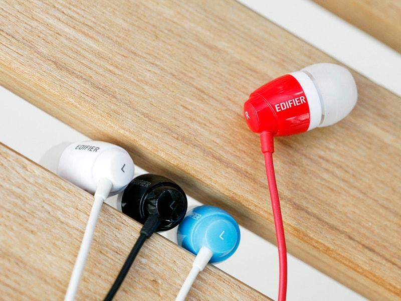 EDIFIER H210 Earbud White 1.3m - 2