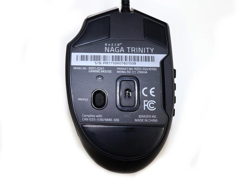 Myszka Gamingowa Razer Naga Trinity Chroma Gaming | Refurbished - 4