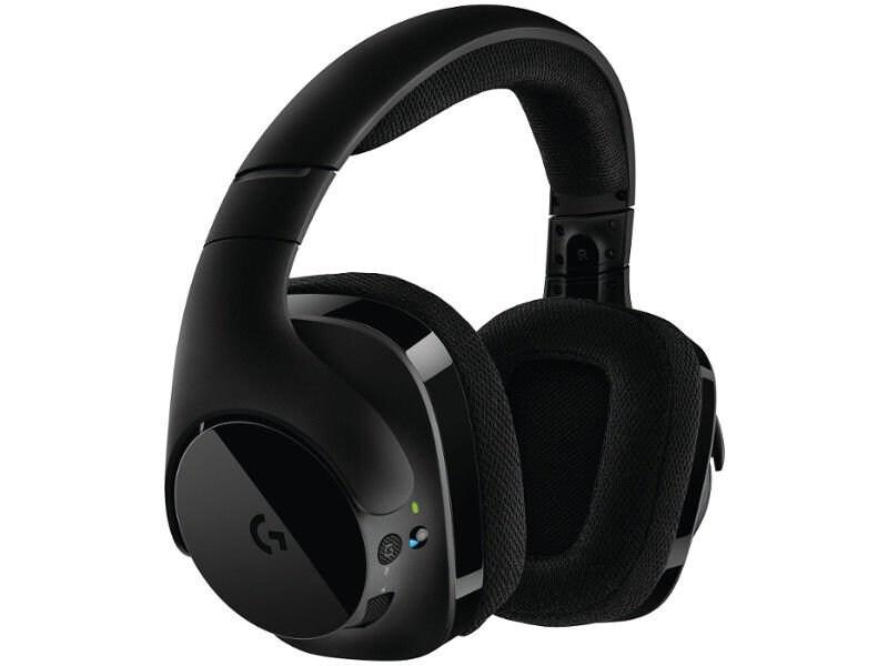 Słuchawki Bezprzewodowe Logitech G533 Wireless DTS   Refurbished - 2