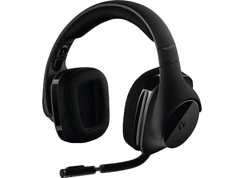 Słuchawki Bezprzewodowe Logitech G533 Wireless DTS   Refurbished - 4