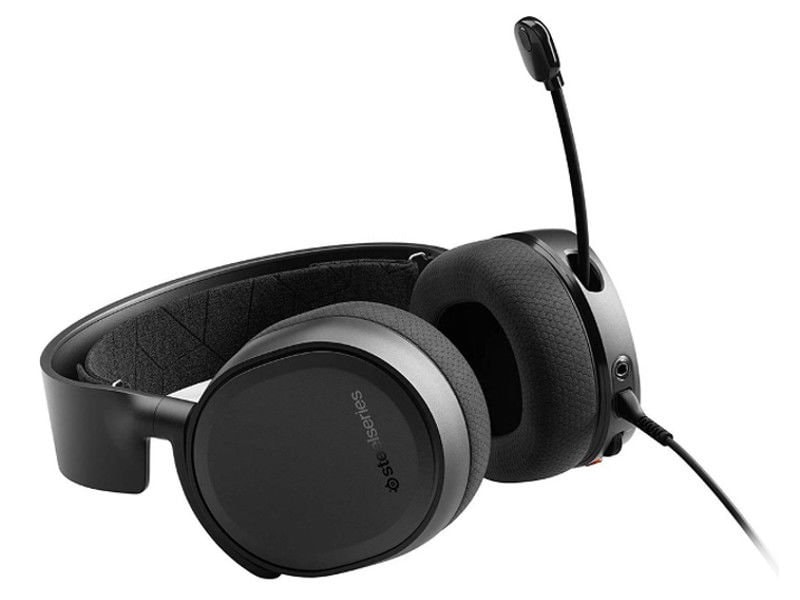 Słuchawki Gamingowe Steelseries Arctis 3 Professional Black 2019 Edition   Refurbished - 1