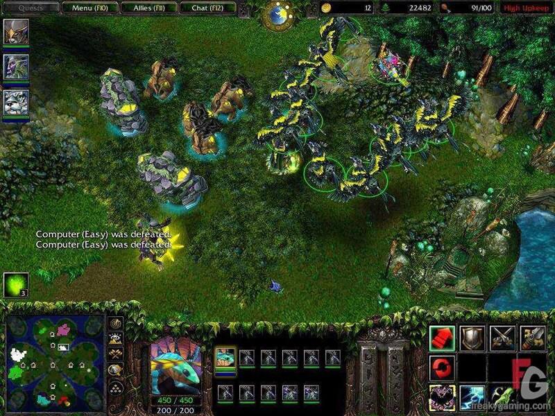 Warcraft 3 Reign of Chaos Battle.net Key GLOBAL - 4