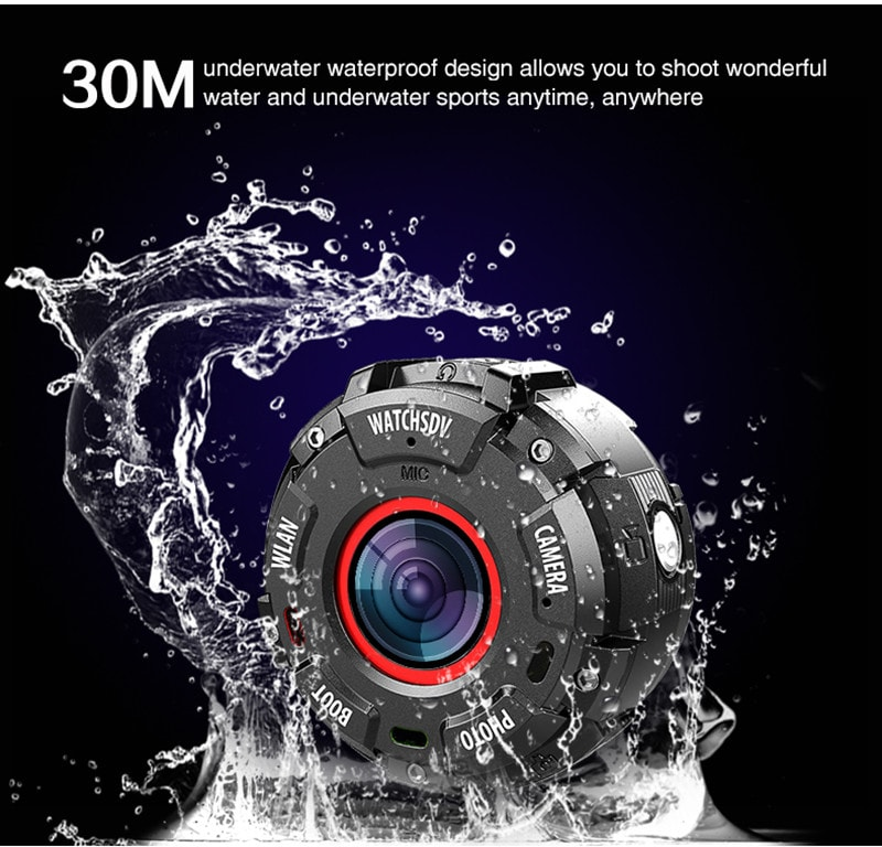 Wearable and Detachable Smart Sports Camera - 1080P, APP, Wifi, Magnetic Base, Waterproof, Hunting Camera - 10
