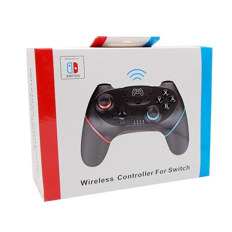 2 Pairs 2020 Bluetooth Pro Gamepad Joystick for Nintendo Switch NS-Switch Pro and NS Mini Black - 4