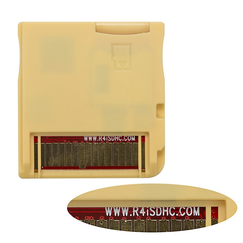 2020 R4 Gold Pro SDHC for DS/3DS/2DS/DSi Revolution Cartridge With USB Adapter - 3