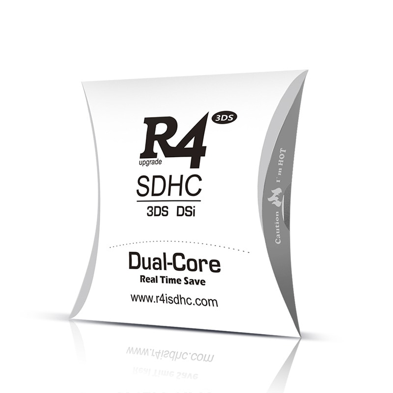2020 R4 SDHC Dual-Core for DS/3DS/2DS/DSi Revolution Cartridge With USB Adapter - 2