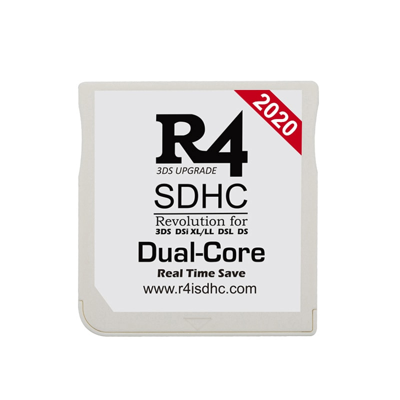 2020 R4 SDHC Dual-Core for DS/3DS/2DS/DSi Revolution Cartridge With USB Adapter - 1