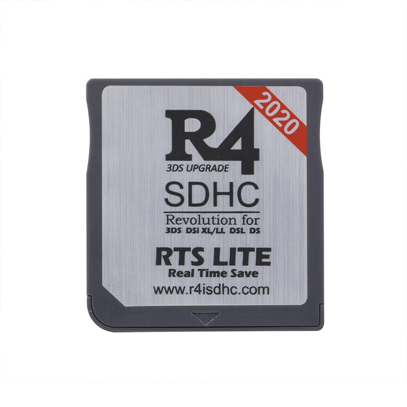 2020 R4 SDHC RTS LITE for DS/3DS/2DS/DSi Revolution Cartridge With USB Adapter - 1
