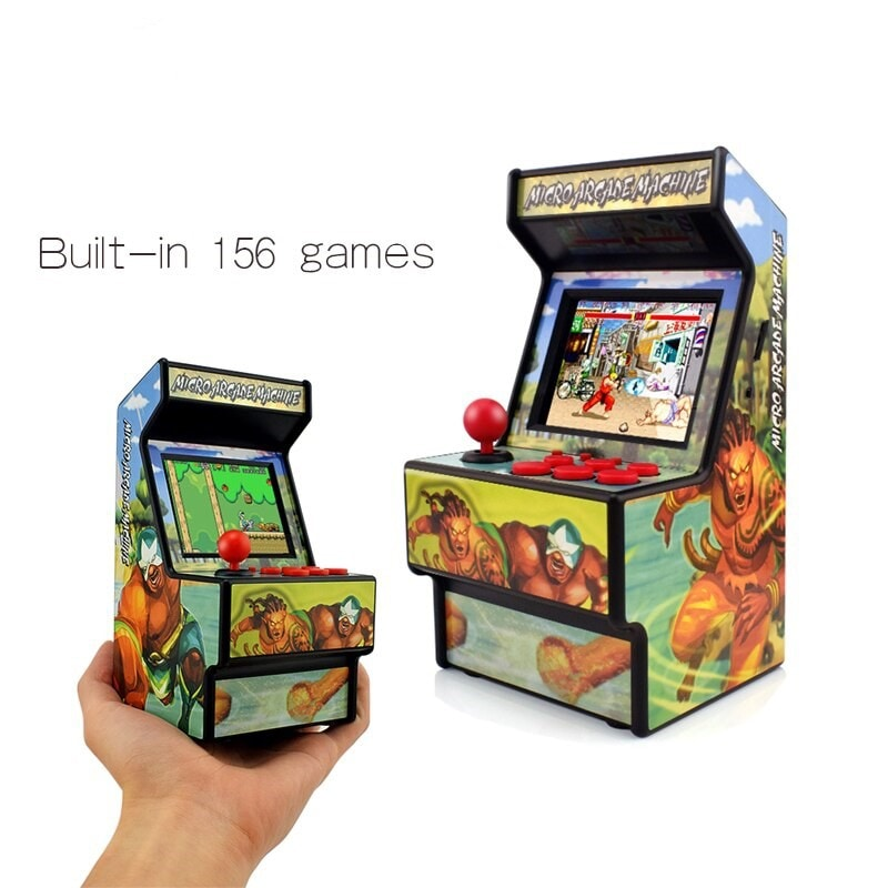 2.8 Inch Built In 156 Games Handheld Game Console Support TV Output Gift - 1