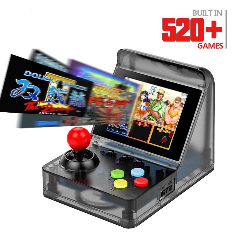 32 Bit Retro ARCADE Mini Video Game Console 3.0 Inch Built In 520 Games Handheld Game Console - 7