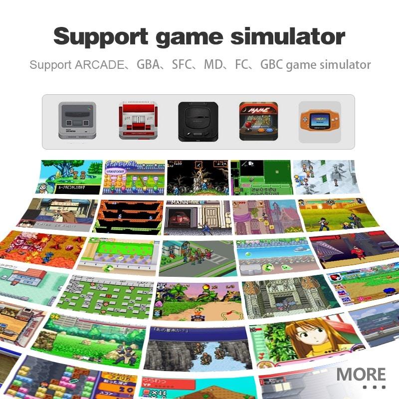32 Bit Retro ARCADE Mini Video Game Console 3.0 Inch Built In 520 Games Handheld Game Console - 2