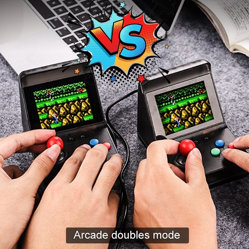 32 Bit Retro ARCADE Mini Video Game Console 3.0 Inch Built In 520 Games Handheld Game Console - 4