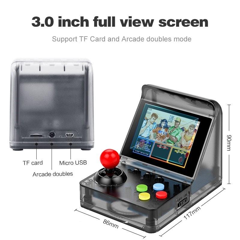 32 Bit Retro ARCADE Mini Video Game Console 3.0 Inch Built In 520 Games Handheld Game Console - 5