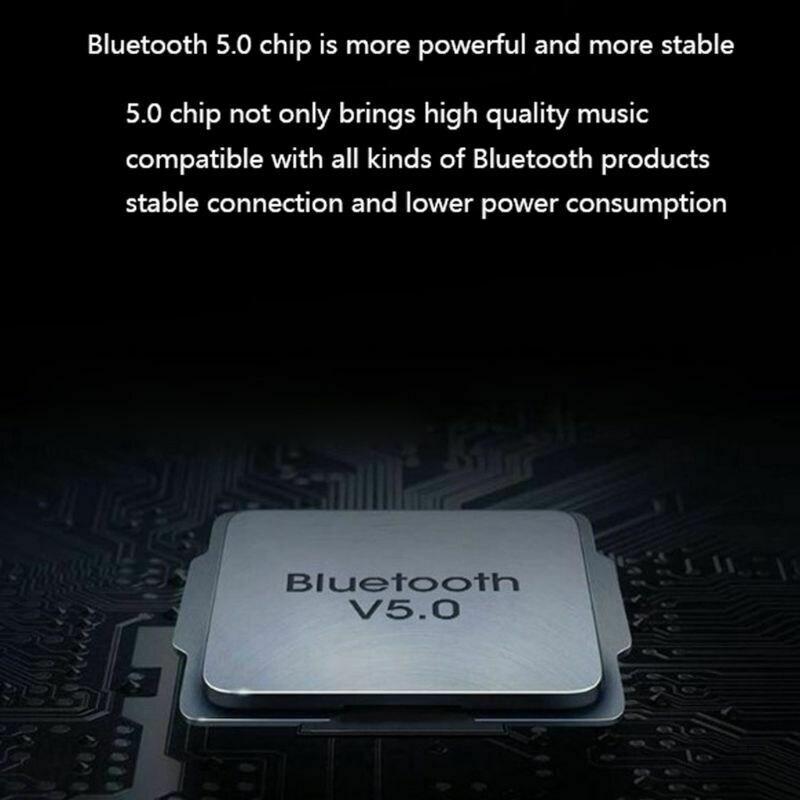 3.5 Jack Bluetooth 5.0 Audio Transmitter Earphone/Wireless Headset/Adapter Converter for Universal PS4 PS5 Controller Black - 3
