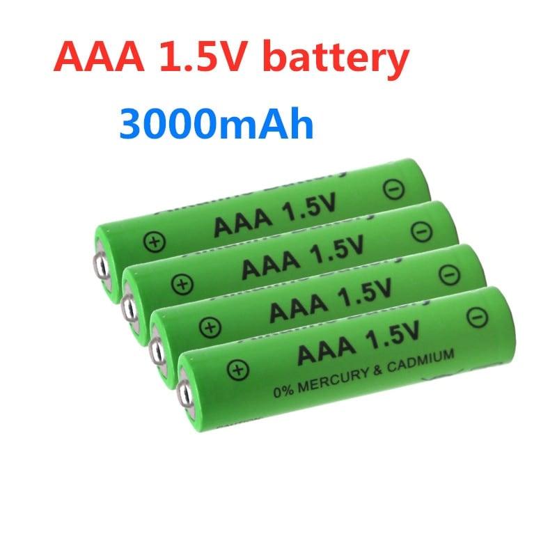 4PCS Rechargeable AAA Battery 3000mAh Battery 1.5V 3000mAh - 1