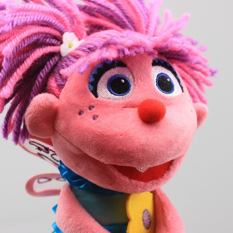 Abby Cadabby Doll Sesame Street Pink - 4