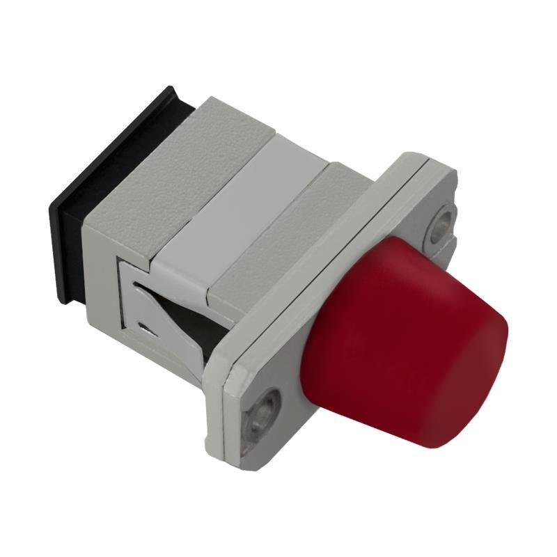 Adapter Światłowodowy Hybrydowy Qoltec Sc/upc-Fc/upc Simplex Singlemode - 1