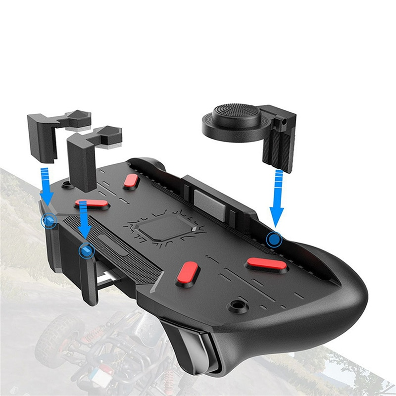 AK21 Gaming Joystick Gamepad - Mobile Phone Game Trigger Fire Button L1R1 Shooter Controller AK21 - 5