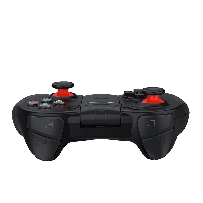 B04 Wireless Bluetooth Gamepad Remote Game Controller Joystick For PUBG Mobile Game Controller For PC TV BOX Smartphones Black - 6