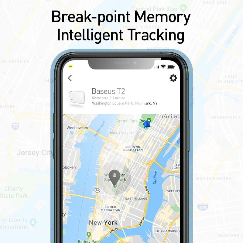 Baseus Key Finder Smartphone Finder Wireless Smart Tracker - Pink - 4