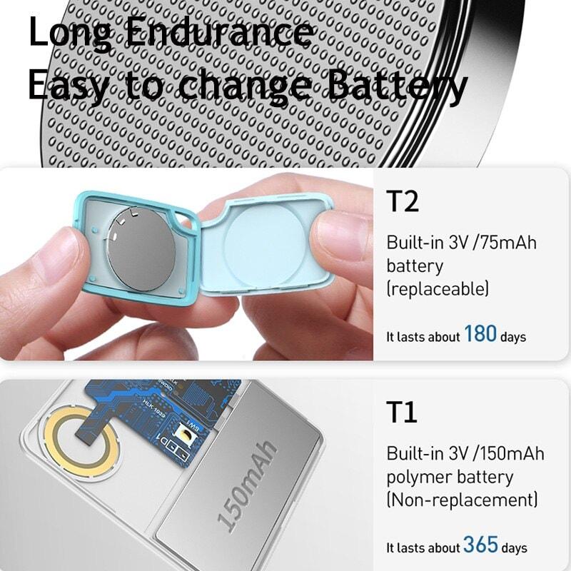 Baseus Key Finder Smartphone Finder Wireless Smart Tracker - Pink - 6