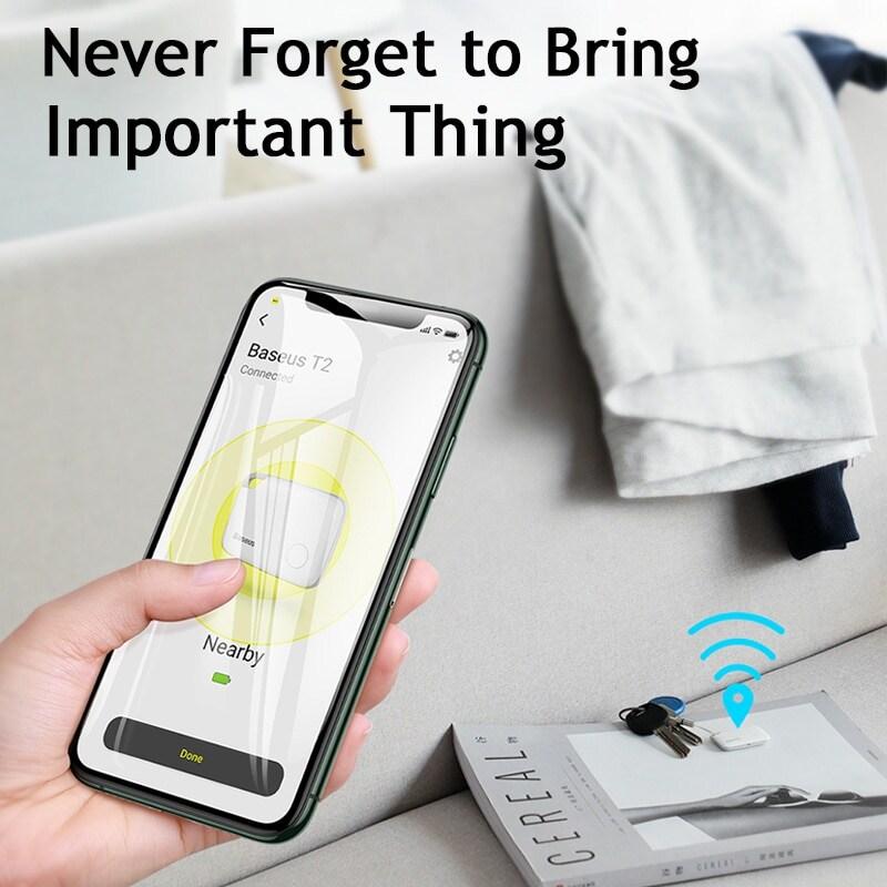 Baseus Key Finder Smartphone Finder Wireless Smart Tracker - Pink - 3
