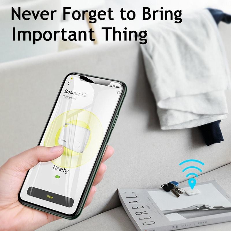 Baseus Key Finder Smartphone Finder Wireless Smart Tracker - 3