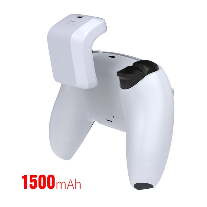 Battery Pack for DualSens PS5 Controller 1500mAh White - 4