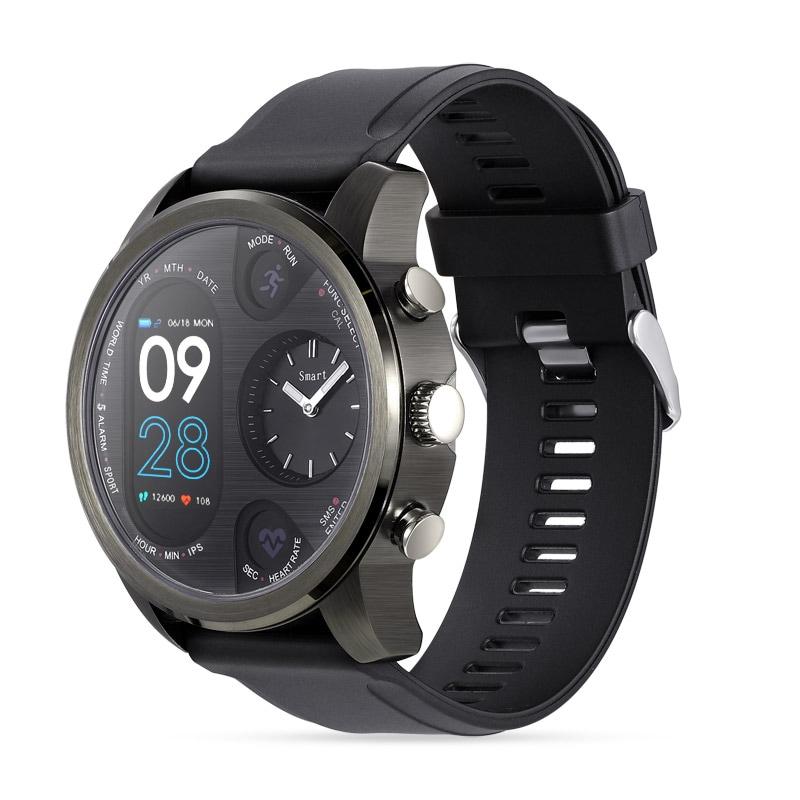 Black Waterproof Smartwatch Sport Smart Watch with Fitness Activity Tracker IP68 - 1
