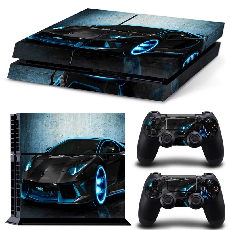 Bran New Wallpaper Skn Boy Sticker For Customise & Protect Your PlayStation Gaming Console  Dark Blue - 1